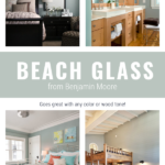 Beach Glass From Benjamin Moore Is So Versatile It Goes With Any Wood Tone Or Color Of Paint, By The Creativity Exchange On Remodelaholic