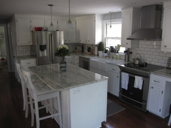 DIY White Kitchen Remodel Ideas, Simplebeautifulhome On Remodelaholic