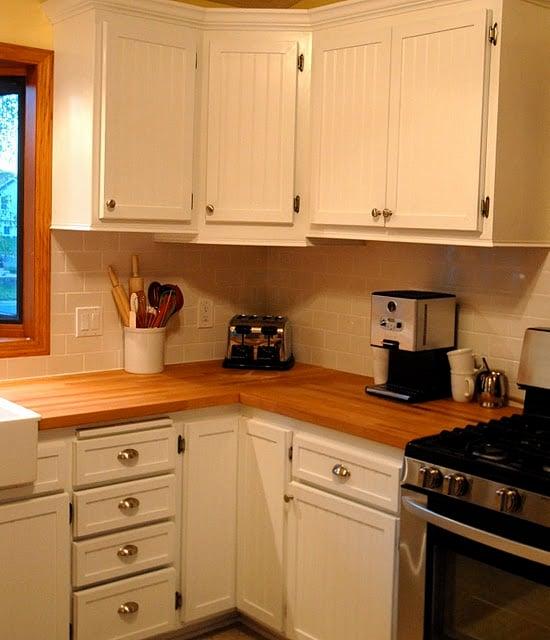 Beadboard Kitchen Cabinet Door Remodel, House Envy On Remodelaholic