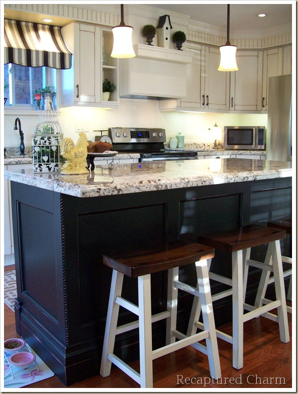 Black And White Kitchen Remodel, Recaptured Charm On Remodelaholic