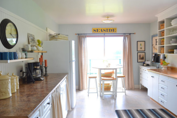 Budget Friendly White Kitchen Remodel, Ritajoy On Remodelaholic