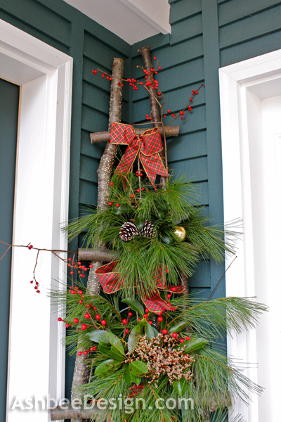 Christmas Porch Ladder, Ashbee Designs