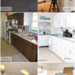 17 Kitchen Remodel Ideas For Basic Dated Small Kitchens, Before And After Pics, Remodelaholic