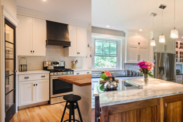 19 Before and After Kitchen Remodel Ideas