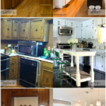 Before And After Pictures Of Beautiful DIY Kitchen Remodel Ideas, Remodelaholic