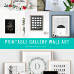 Neutral Black And White Art Printables For Gallery Walls Home Decor, Remodelaholic