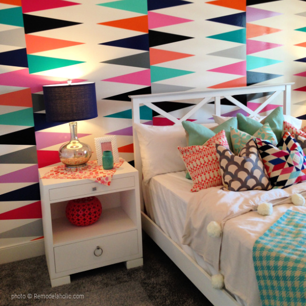 Colorful Teen Bedroom Ideas, UVPH 2015 HOME 18 MILLHAVEN HOMES, Photo Remodelaholic