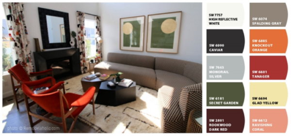Earthy Muted Sherwin Williams Color Scheme Remodelaholic