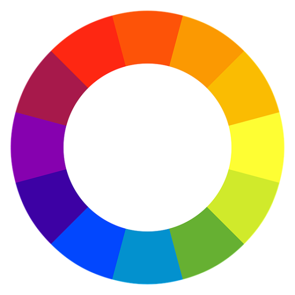 Home Color Palette Using The Color Wheel Circle