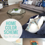 Home Color Scheme Tips And Ideas For A Color Palette For Home Decor, Remodelaholic