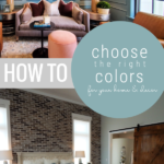 How To Choose A Home Color Scheme Palette For Home Decor And Paint Colors, Remodelaholic