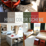 How To Decorate Using A Home Color Scheme For Cohesive Decor Color Palette, Remodelaholic