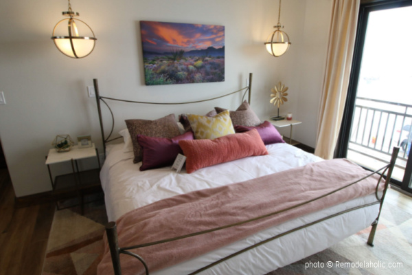 Pink And Purple Home Color Scheme Ideas, SGPH 2019 House 28 Diamond B Builders, Photo Remodelaholic