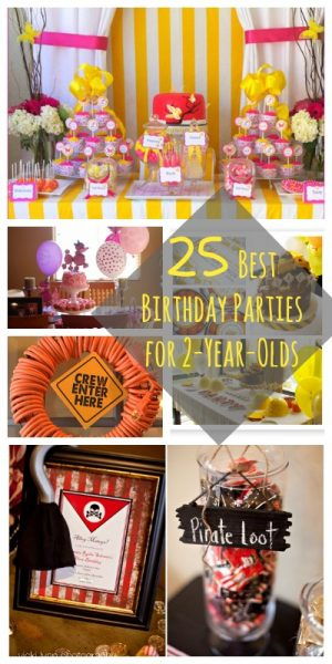 25 Best Birthday Parties for 2-Year-Olds | @Remodelaholic #party #ideas #decor #food #birthday #toddler