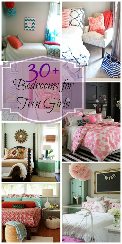 Remodelaholic sweet as sugar girl 39 s room design ideas - Room themes for teenage girl ...
