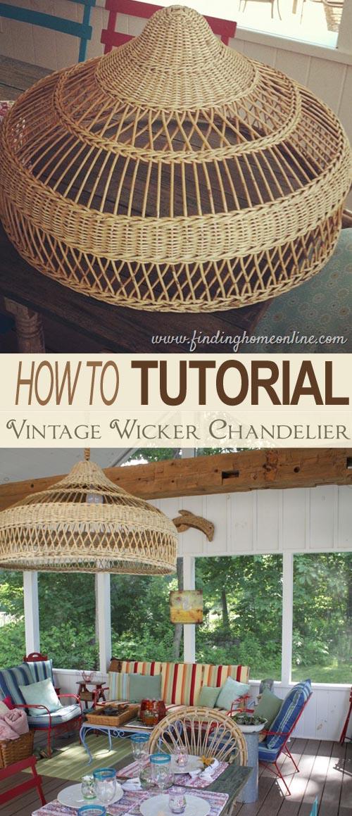 vintage-chandelier-wicker-shade-basket-bowl-diy-tutorial-remodelaholic.com